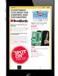 Bradfords email marketing campaign