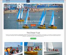 The Chesil Trust, Dorset – Charity website design