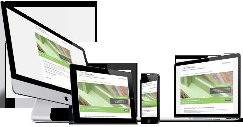Sash Window TLC, Somerset website design