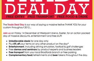 Email marketing campaign: Bradfords
