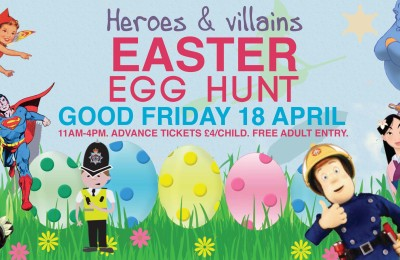Press Release: The Toy Barn Easter Egg Hunt