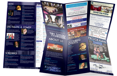 Electric Palace, Bridport Leaflet Design