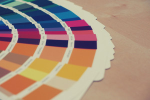 Graphic design colours