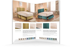 Moonraker Beds Brochure Design