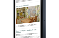Responsive email marketing campaign