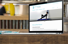Pilates in Twickenham Website Design