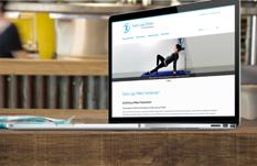 Pilates in Twickenham Website Design