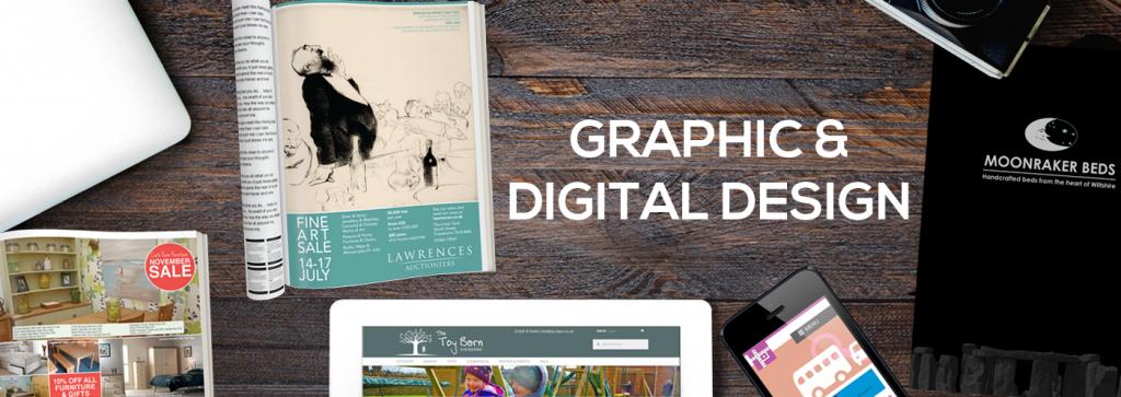 Creative marketing: graphic design & copywriting