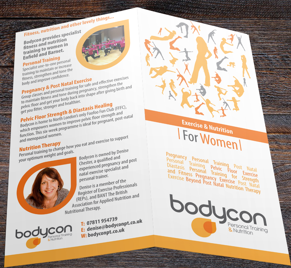 Personal Training for Women Leaflet