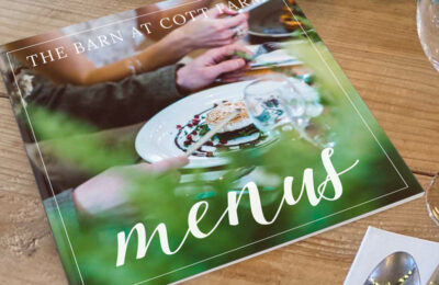 Wedding Venue Brochure Design