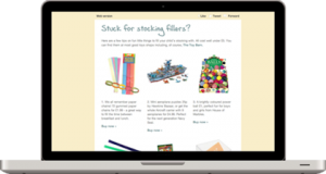 Email marketing campaign design for Toy Barn, Sherborne, Dorset