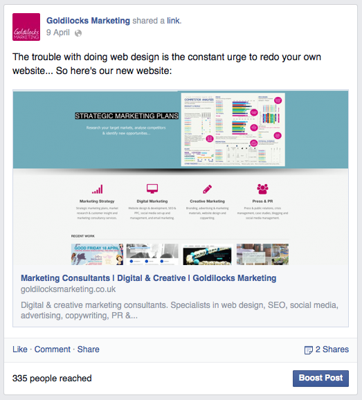 Increasing Facebook post visibility: reach more people on Facebook