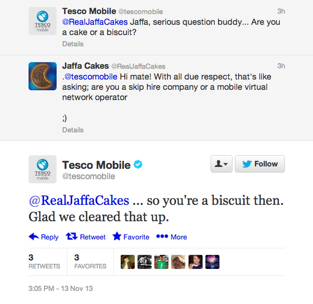 Tesco Mobile on Facebook